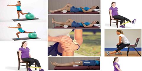 ورزش های برای درمان آرتروز زانو